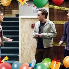 Studio photo- Where's Sheldon?