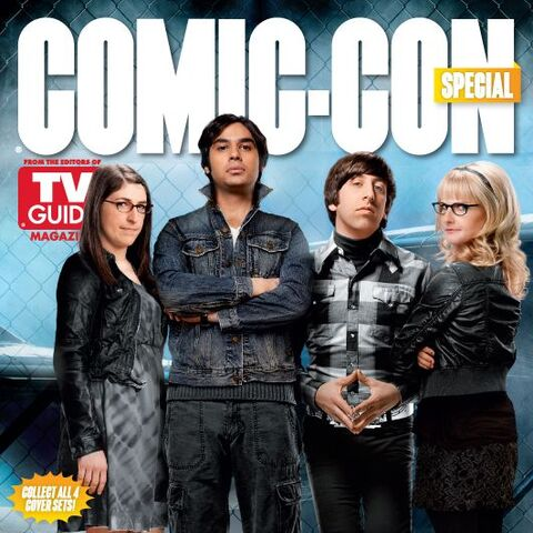 TV Guide Magazine Comic-Con 2012 cover of the show