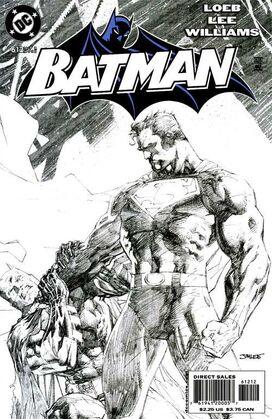 Batman 612 2nd Printing Sketch Variant