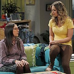Amy confides in Penny regarding Sheldon.
