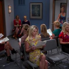 Room full of hopeful actresses.