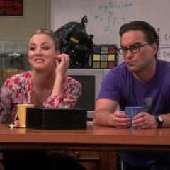 Watching Sheldon be Sheldon.