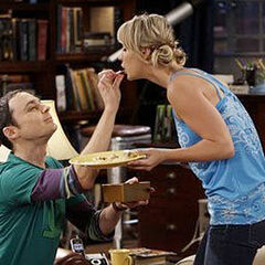 Sheldon training Penny.