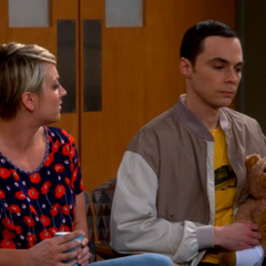 It was nice of you to get the bear. The bear is mine.