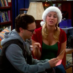 Penny gives Leonard motorcycle lessons.