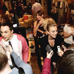 Интервью после съёмок