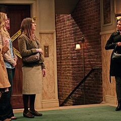 Amy and the girls run into Priya as they are heading out together.