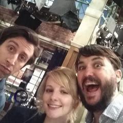 Howard, Bernadette and Wil.
