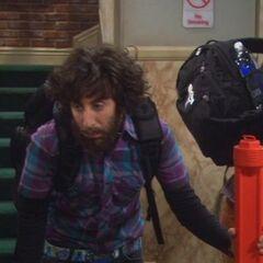 Howard on his return.