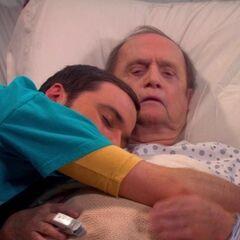 Sheldon calls him