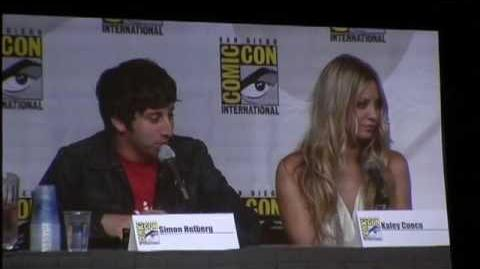Comic-Con 2010 Big Bang Theory Panel - Part 2