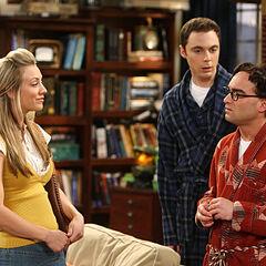 Penny gets jealous when Leonard has sex with Dr. Plimpton.