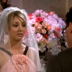 Penny is blown away by the vows that Leonard used.