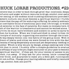 Chuck Lorre Productions, #210.