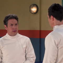 Sheldon challenging Kripke to a duel over Amy. In three years.
