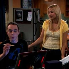 Sheldon, you're ignoring your sister.