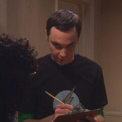 Leonard meets Sheldon Cooper.