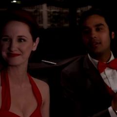 Raj and Emily.