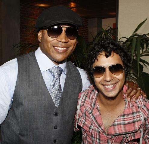 File:Kunal Nayyar with LL Cool J.jpg