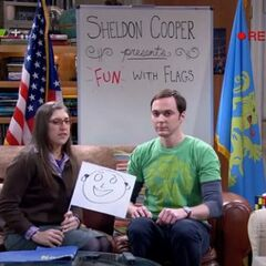 Sheldon, Amy and Ferdinand T. Flag.