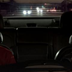 Driving Sheldon around.