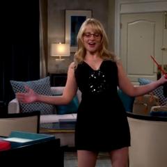 Bernadette demonstrating a down under stripper move.