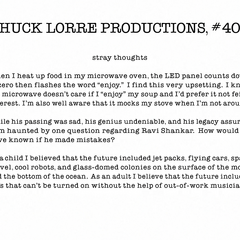 Chuck Lorre Productions, #403.