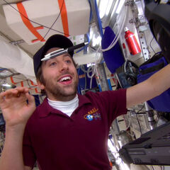 Howard on board the International Space Station.