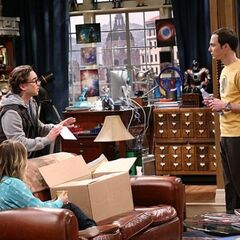 Leonard is worried that Sheldon might freak out over an unreturned DVD.