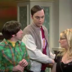 Sheldon is not happy when Bernadette disagrees on having him perform her wedding in Klingon.