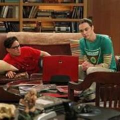 Leonard and Sheldon.
