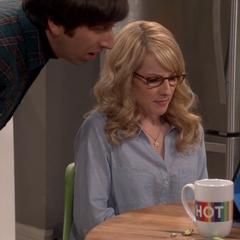 Howard is shocked by Raj's video.