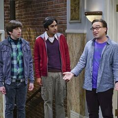 Leonard mad at Penny and Sheldon.