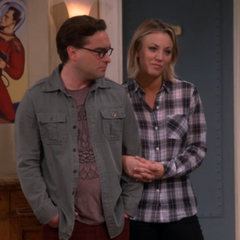 Watching Sheldon standing up for Amy.
