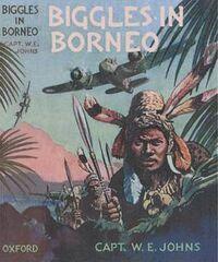 Biggles in Borneo 1st