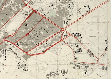 Cairo map-us army-1958