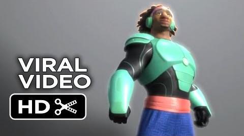 Big Hero 6 VIRAL VIDEO - Wasabi (2014) - Damon Wayans Jr. Disney Animation Movie HD