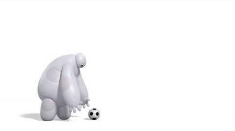 Baymax vs. Soccer Ball