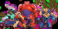 Big Hero 6 Team Render