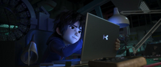 Hiro's Laptop