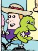 Chad holding a ice cream cone
