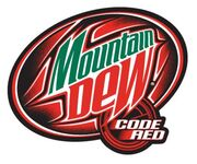 Mountain Dew Code Red logo 2003