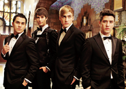Big time movie tux.