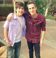 Kendall and Austin Mahone