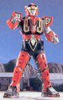 MMPR Red Dragon Thunderzord Warrior Mode