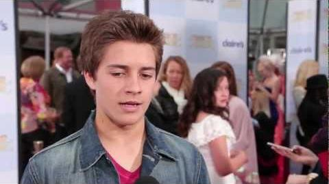 """Billy Unger on """"Lab Rats"""" & Cody Simpson at 'Mirror Mirror' Premiere"""