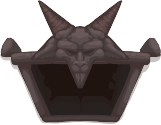 Devil room door