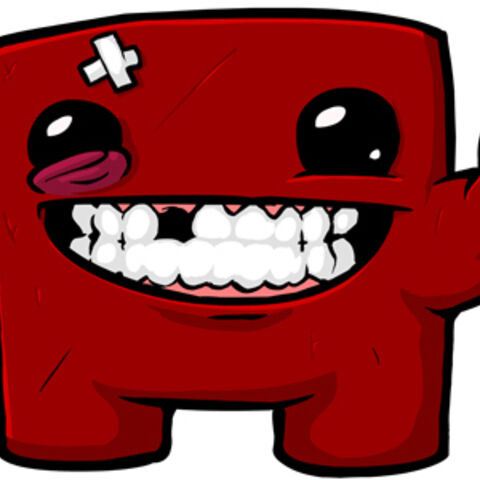 Meat Boy, from <i>Super Meat Boy</i>.