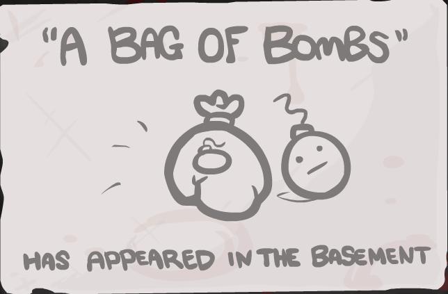 Bag of Bombs Unlock