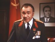 The Moving Mountain - Leonid Brezhnev (framed picture)